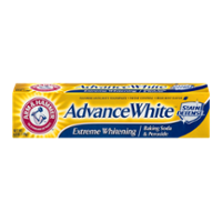 Arm & Hammer Advance Extreme White Stain Defense Fluoride Toothpaste with Baking Soda and Peroxide 6.0oz PKG product image
