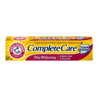 Arm & Hammer Complete Care Plus Whitening with Stain Defense Mint Toothpaste 6.0oz PKG product image