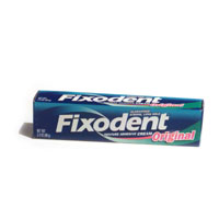 Fixodent Dental Adhesive Original 2.4oz. PKG product image