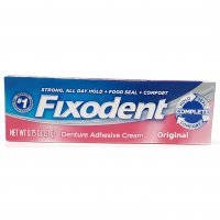 Fixodent Dental Adhesive Original Travel Size .75oz PKG product image