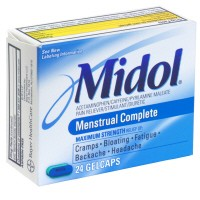 Midol Menstrual Complete Acetaminophen 500mg Gelcaps 24CT product image