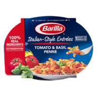 Barilla Mezze Penne with Tomato & Basil Sauce Microwaveable Meal 9oz product image