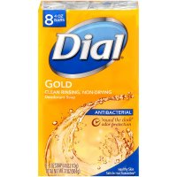 Dial Bath Soap Antibacterial Gold 8PK of 4oz Bars product image