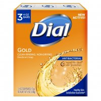 Dial Bath Soap Antibacterial Gold 3PK of 4oz Bars product image
