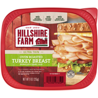 Hillshire Farm Ultra Thin Sliced Oven Roasted Turkey Breast 9oz PKG product image