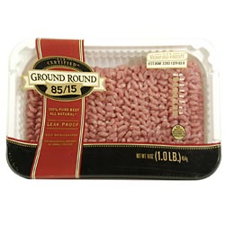 Ground Round 85% Lean 1LB PKG product image