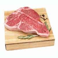 Beef Loin Porterhouse Steak Bone-In USDA Choice Approx 1.5LB PKG product image