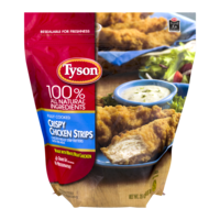 Tyson Chicken Strips Crispy with White Meat 25oz Bag product image