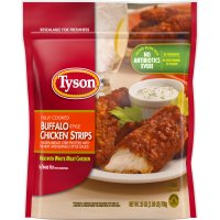 Tyson Chicken Strips Buffalo Frozen 25oz Bag product image