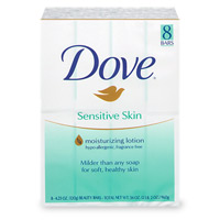 Dove Beauty Bar Sensitive Skin 8PK 4oz Bars product image