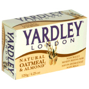 Yardley Bath Soap Oatmeal & Almond 4.25oz Bar product image