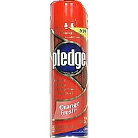 Pledge Furniture Polish Orange Aerosol Spray 12.5oz. Can product image