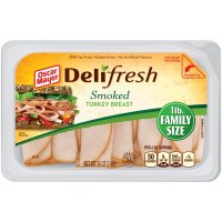 Oscar Mayer Deli Fresh Smoked Turkey Family Size 16oz PK product image