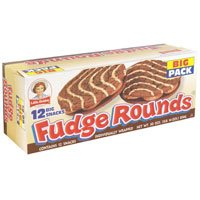 Little Debbie Fudge Rounds Big Pack 12CT 28.35oz Box product image