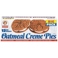 Little Debbie Oatmeal Creme Pies Big Pack 12CT 31.78oz Box product image
