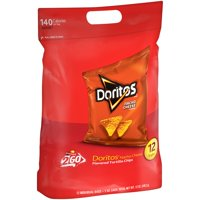 Doritos 10 Sack Nacho Cheese 12oz Bag product image