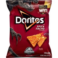 Doritos Tortilla Chips Spicy Nacho 9.75oz Bag product image