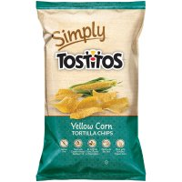 Tostitos Simply Yellow Corn Tortilla Chips 9oz Bag product image