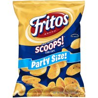 Fritos Corn Chips Scoops Party Size 18oz Bag product image