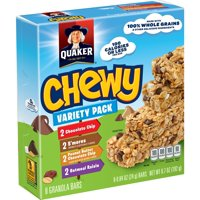 Quaker Chewy Granola Bars Variety Pack  8CT 6.7oz product image