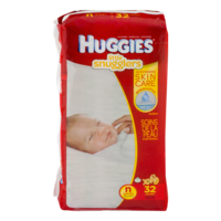 Huggies Little Snugglers Newborn Diapers (up to 10 pounds) 32 CT PKG product image