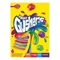 Betty Crocker Fruit Gushers Variety 6CT 4.8oz Box product image
