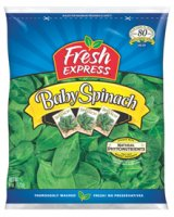 Fresh Express Baby Spinach 6oz Bag product image