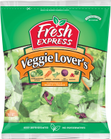 Fresh Express Salad Veggie Lovers 11oz Bag product image