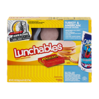 Lunchables Turkey American Cheese W Capri Sun 8 9oz Box Garden Grocer