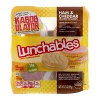 Lunchables Ham & Cheddar w Vanilla Cookie 3.5oz PKG product image