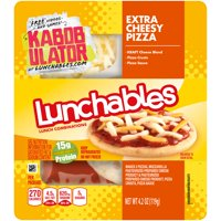 Lunchables Extra Cheesy Pizza 3CT 4.2oz Box product image