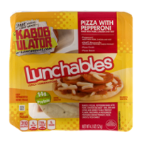 Lunchables Pizza with Pepperoni 3CT 4.3oz Box product image