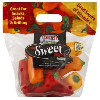 Pero Family Farms Mini Sweet Peppers 8oz Bag product image