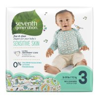 Seventh Generation Diapers Size 3 (16-28LB) 31CT PKG product image