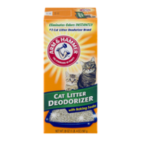 Arm & Hammer Cat Litter Deodorizer with Baking Soda 20oz Box product image