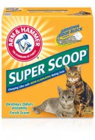 Arm & Hammer Super Scoop Cat Litter Clumping Fresh Scent 14LB Box product image