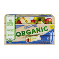Capri Sun Organic Juice Drink Pouches Apple 10CT of 6oz EA product image