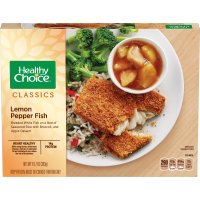 Healthy Choice Lemon Pepper Fish 10.7oz PKG product image