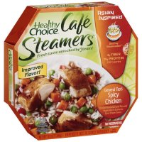 Healthy Choice Cafe Steamers General Tso's Spicy Chicken 10.3oz PKG product image