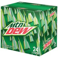 Mountain Dew 24 Pack of 12oz Cans product image