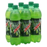 Mountain Dew 6 Pack of 16.9oz Bottles product image