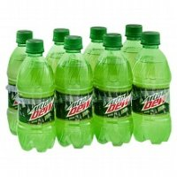 Mountain Dew 8 Pack of 12oz Bottles product image