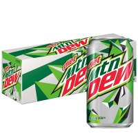 Mountain Dew Diet 12 Pack of 12oz Cans product image