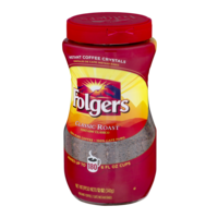 Folgers Classic Roast Instant Crystals 12oz Jar product image