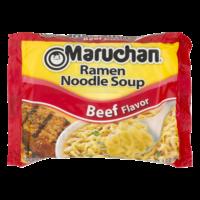Maruchan Ramen Noodle Soup Beef Flavor 3oz PKG product image