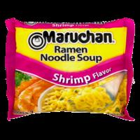 Maruchan Ramen Noodle Soup Shrimp Flavor Ramen Noodles 3oz PKG product image