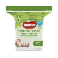 Huggies Natural Care Baby Wipes Fragrance Free Refill 184CT product image