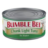 Bumble Bee Chunk Light Tuna in Water 12oz. Can product image