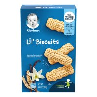 Gerber Lil Biscuits Vanilla Wheat 4.44oz Box product image