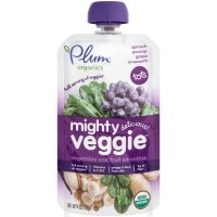 Plum Organics Baby Food Tots Mighty Veggies Purple 4oz Pouch product image